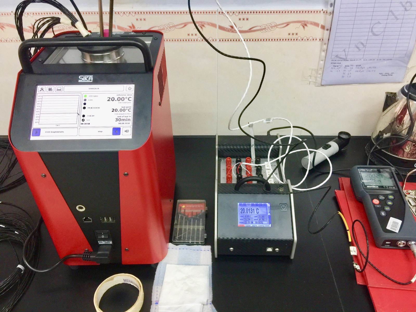Calibration and test instruments