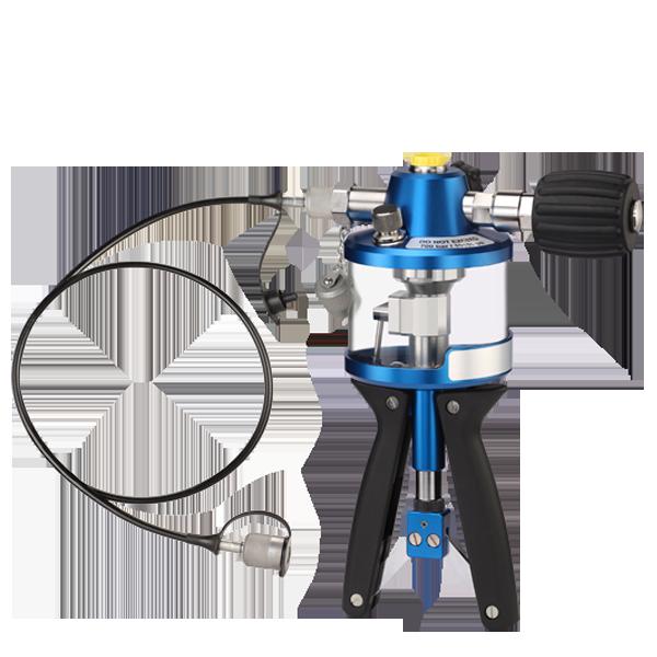 Hydraulic hand test pump