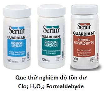 Potency and residues Test Strip of disinfectant - Serim Test Strips
